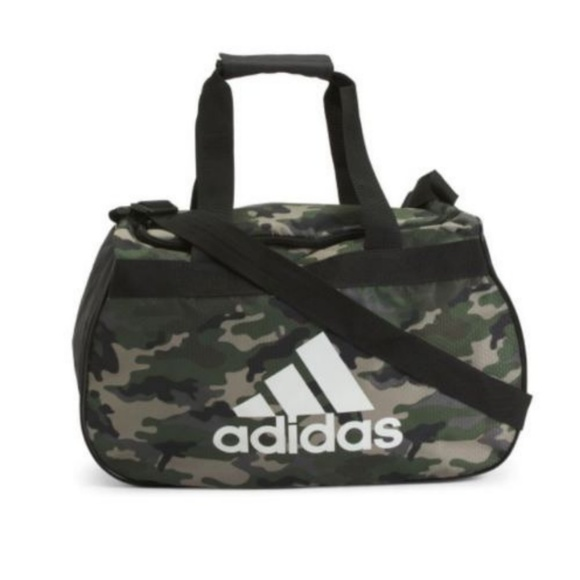 864d5e98453f adidas Other - Adidas Diablo Small Duffle Gym Bag Camo Hex Print